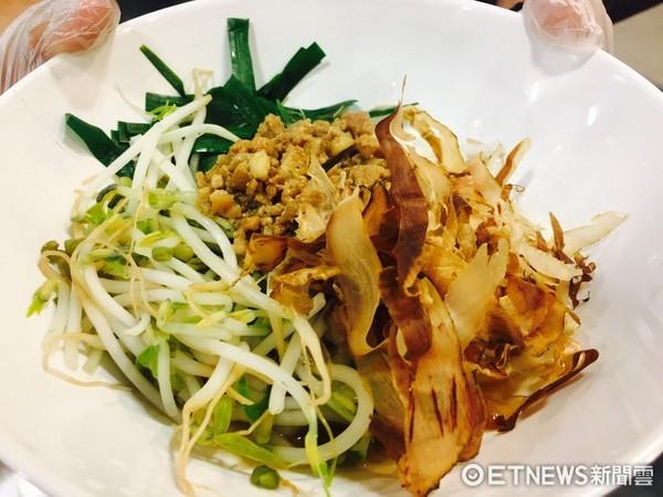 ▲2017台灣美食展 美好食光展區美食。(圖/記者曹悅華攝)