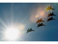 ▲▼莫斯科航展,Su-30戰鬥機,蘇-30戰鬥機。(圖/路透社)