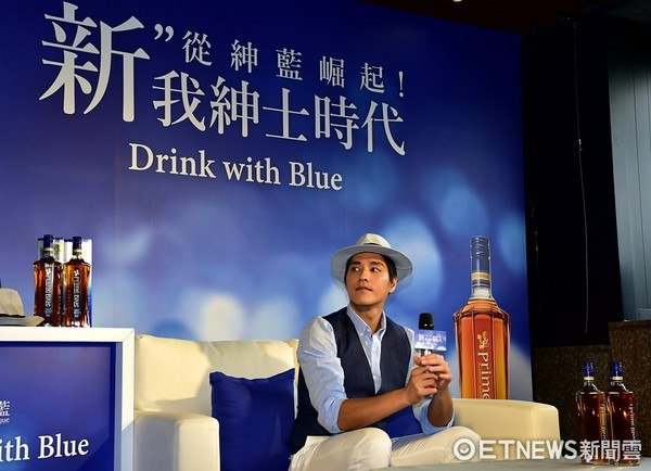 紳士藍正龍必備良品!Prime Blue紳藍威士忌年度品牌宣傳活動開跑(記者游鎧丞攝)
