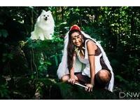 魔法公主cosplay(圖/翻攝自photoblog)