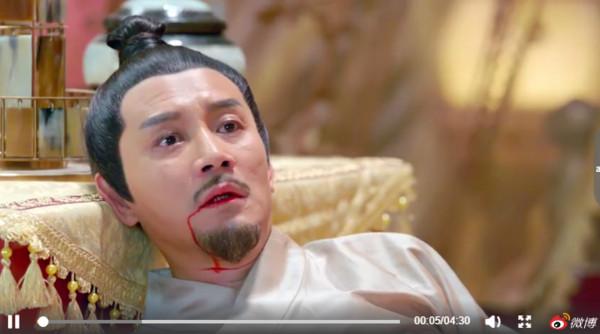 ▲李沁《楚喬》弒父。(圖/翻攝自《楚喬傳》官方微博)