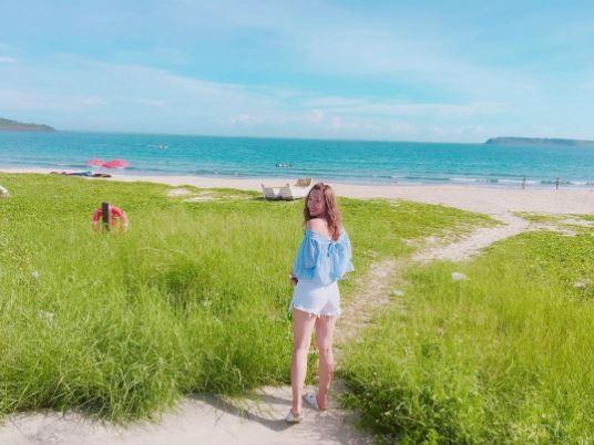 澎湖海景,嵵裡沙灘。(圖/IG@liyuan314提供,請勿任意翻攝以免侵權)