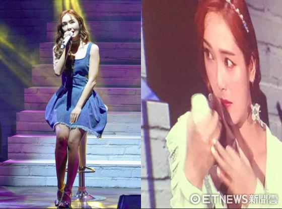 ▲▼「妳那麼惹人喜愛」 Jessica哭到唱不下去:我想把歌唱好 。(圖/記者張一中攝、記者吳睿慈攝)