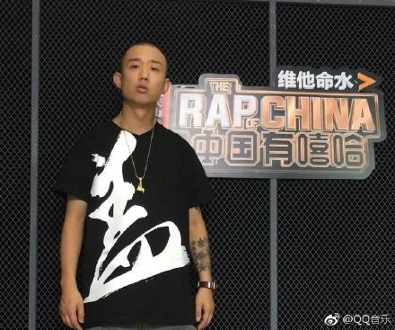 ▲《中國有嘻哈》GAI。(圖/翻攝GAI爺只認錢微博)