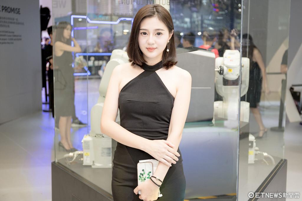 上海直擊China Joy電玩展正妹。(圖/記者莊友直攝)