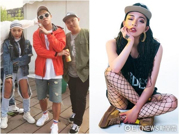 ▲中國有嘻哈vava加入混血兒娛樂  。(圖/混血兒娛樂)
