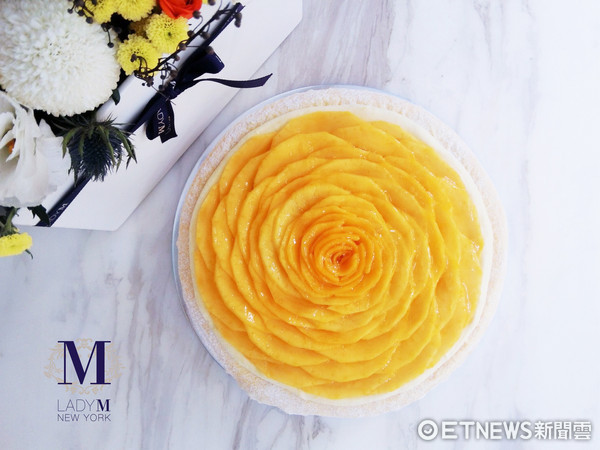 ▲▼Lady M推出全天下上獨家口胃「芒果千層蛋糕」。(圖/Lady M提供)