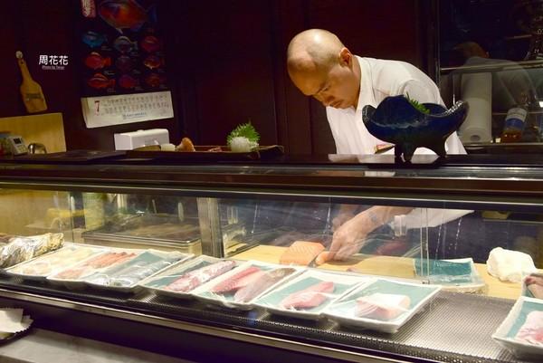 ▲台北無菜單水產日本摒擋。(圖/周花花提供)