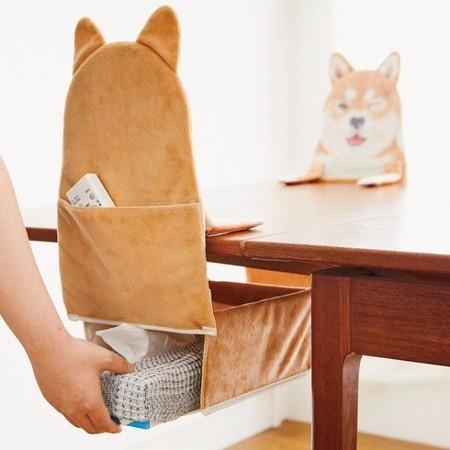 ▲▼ 柴犬衛生紙盒。(圖/翻攝自felissimo官網)