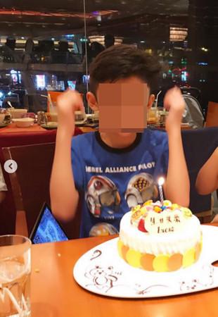 ▲謝霆鋒缺席兒子生日會被砲轟。(圖/翻攝自張柏芝IG、微博)