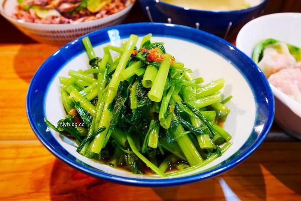 台中文青風小吃店 清爽紫米鴨肉飯、菜頭湯!