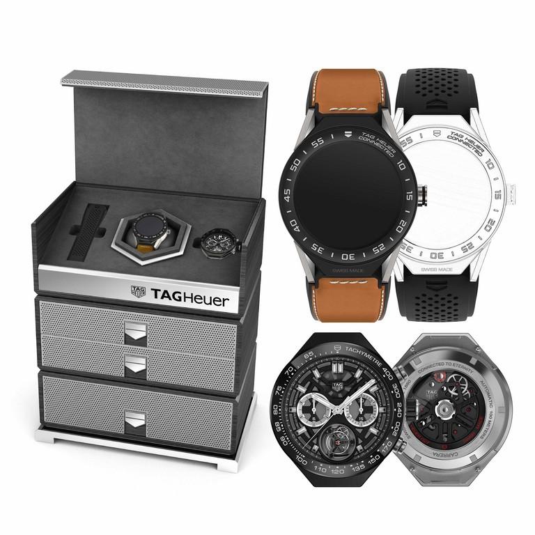 ▲莊凱勛戴TAG Heuer智慧腕錶Modular 45(圖/品牌提供)