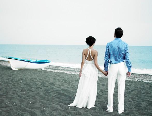 結婚、情侶、婚紗示意圖。(圖/達志示意圖)