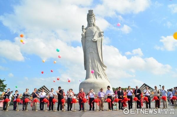 ▲▼ 馬祖宗教文化園區,媽祖巨神像。(圖/資料照)