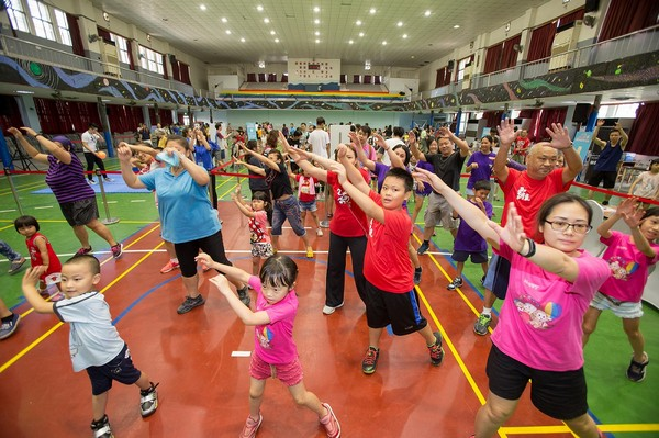 ▲Women動起來「Fun輕鬆」親子樂動大會。(圖/主辦單位提供)