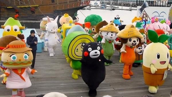 日本吉祥物(圖/翻攝自網路)