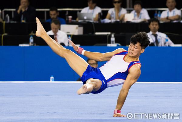 ▲▼世大運競技體操測試賽,唐嘉鴻。(圖/記者季相儒攝)