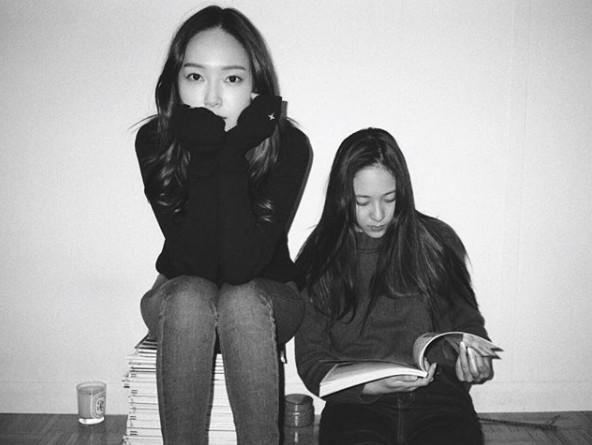 ▲▼Jessica出道10年。(圖/翻攝自Jessica、太妍IG)