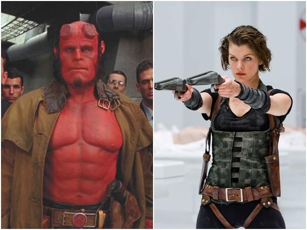 蜜拉喬娃維琪回來了!出演《地獄怪客》反派「血后」。(圖/《地獄怪客》、《惡靈古堡》劇照)