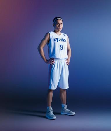 ▲陳盈駿(世大運籃球選手)。(圖/Nike提供)
