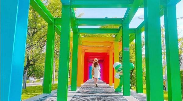 新營不二良藝術園區(圖/網友lineva0615提供,請勿隨意翻拍,以免侵權。)