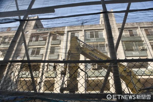 正義國宅都更案,921危樓,老舊建物,房價,房地產,都市更新條例,開發利益,養地。(圖/記者李毓康攝)