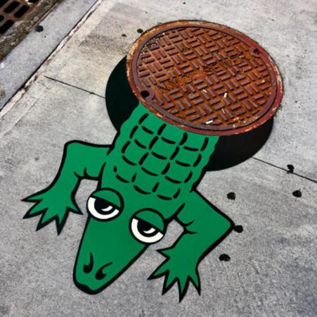 ▲國外療癒街頭藝術。(圖/翻攝自Tom Bob IG)