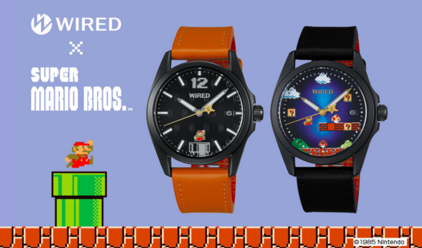 ▲WIRED推「瑪利歐兄弟」腕錶(圖/翻攝自w-wired.com)