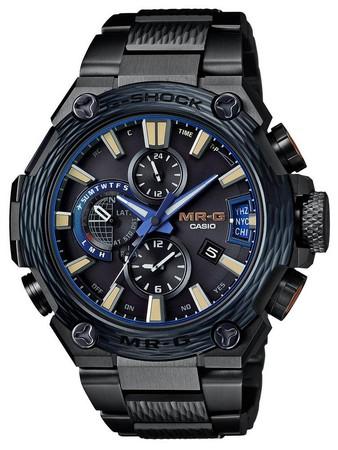 MRG-G2000HT-1A「霞鎚目」限量錶 功能:時、分、秒、日期顯示;世界時區;GPS、世界六局電波接收時間訊號功能 機芯:太陽能石英機芯 建議售價:NT$240,000 (限量500只)