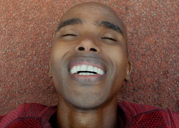 ▲Nike影片《Smile》致敬英國長跑之王Mo Farah。(圖/NIKE提供)
