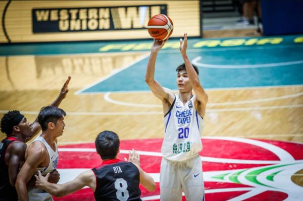 ▲亞洲盃,周伯勳。(圖/截自FIBA官網)