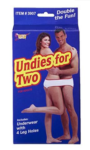 雅馬遜販售「雙人內褲」 買家評價:夾進屁縫的瞬間太值了(圖/翻攝自網路)