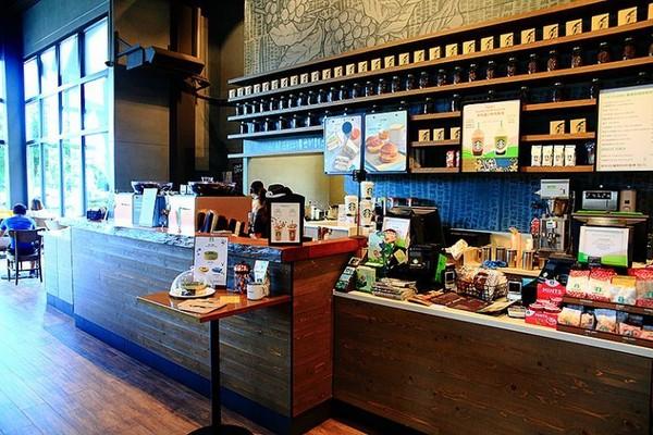 星巴克咖啡台中市政店。(圖/萍子)