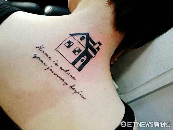 刺青,紋身。(圖/記者李佳蓉攝)