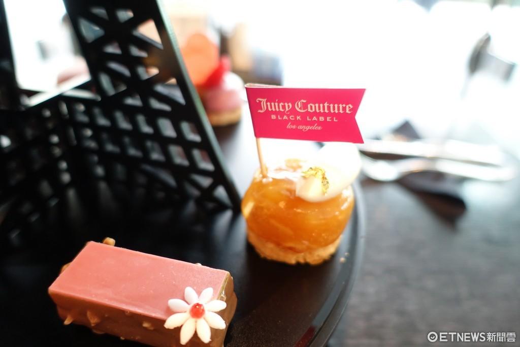 ▲Juicy Couture聯名下午茶。(圖/記者張妤瑄攝)