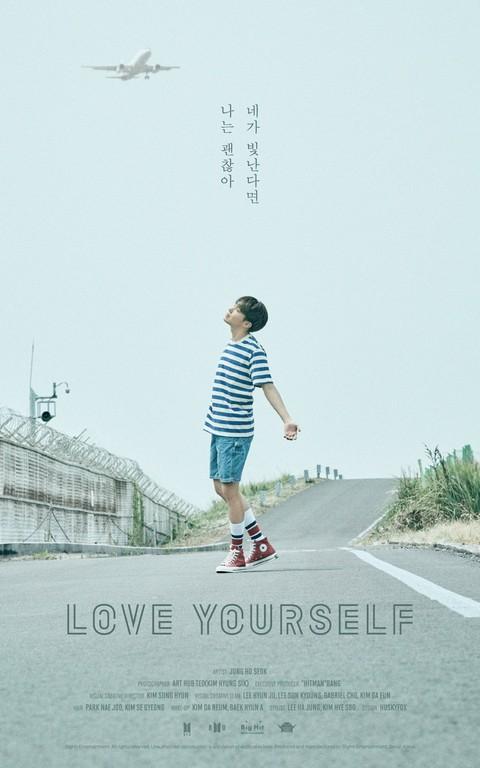 ▲防彈少年團《Love Youself》成員單獨海報。(圖/翻攝自防彈官方推特)