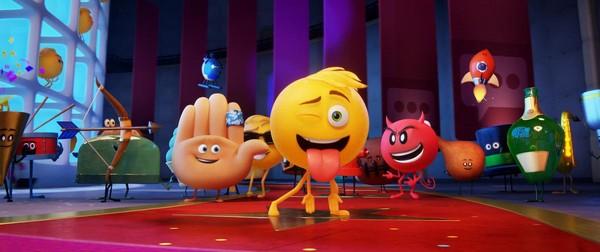 《表情符號電影》(The Emoji Movie)劇照。