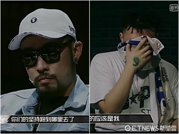 ▲中國有嘻哈熱狗、愛福杰尼。(圖/翻攝愛奇藝)
