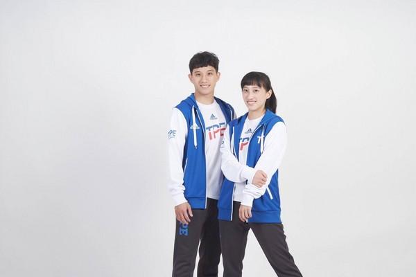 ▲跆拳道姐弟檔李映萱、李晟綱。(圖/李映萱提供)