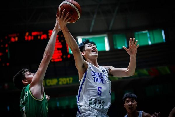 ▲亞洲盃中華隊劉錚、澳洲克里克。(圖/取自FIBA官網)