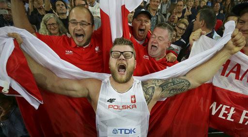▲波蘭鏈球選手Pawel Fajdek(圖/達志影像/美聯社)
