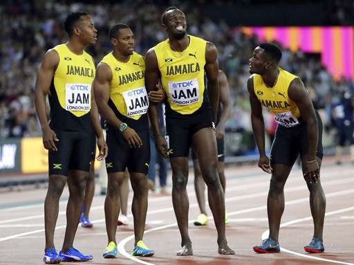 ▲博爾特,Usain Bolt(圖/達志影像/美聯社)