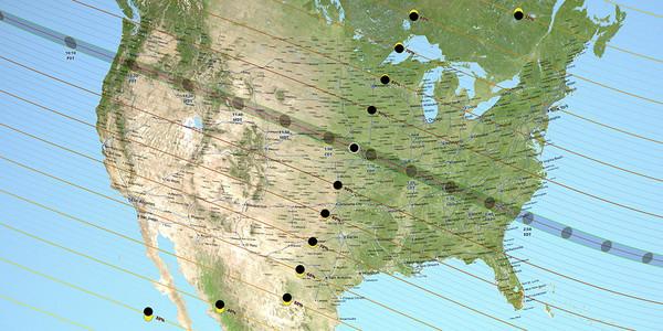 ▲美國8/21可見全日蝕。(圖/翻攝自NASA官網)