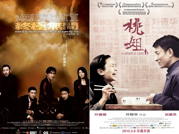 ▲劉德華憑《終極無間》、《桃姐》奪2座金馬獎。(圖/翻攝自維基百科)