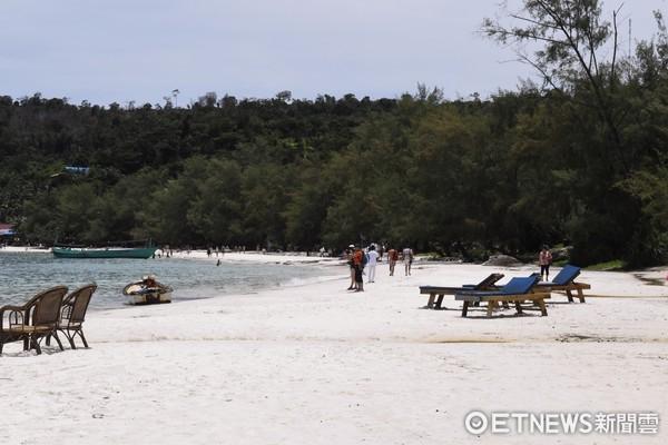 柬埔寨遗世小岛仙境!贝壳白沙看海放空,原始丛林探险