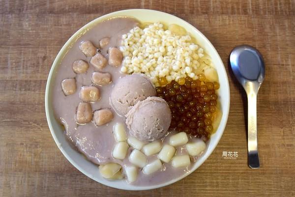 ▲台北人氣芋頭冰店。(圖/周花花提供)