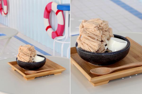 台北新開幕冰店 把粉紅泳池、藍白帆船搬進店裡