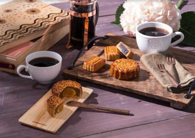 星巴克月饼「卤肉 咖啡馅」超创意图片