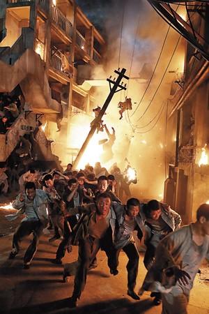 釜山電影協會3D製作中心提供技術補助,讓《軍艦島》的爆炸、逃脫場面更逼真。