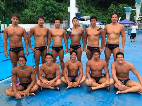 ▲日本水球代表隊員。(圖/翻攝自Poseidon Japan Twitter)